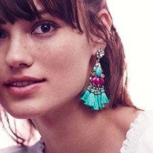 Chloe + Isabel Jewelry - Bazaar Statement Tassel Earrings